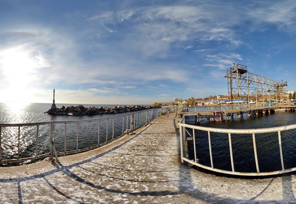 Яхтклуб в Никополе