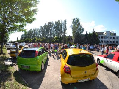 Паровоз SUMMER 2015 — авто-тюнинг шоу