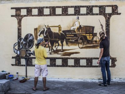 Стрит-арт в Никополе
