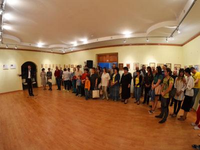 Проект FRANK.Семейная выставка в НКДЦ.