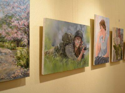 Выставка картин Весна-2017