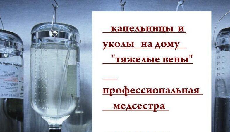 медсестра Никополь уколы капельницы иньекции взятие крови